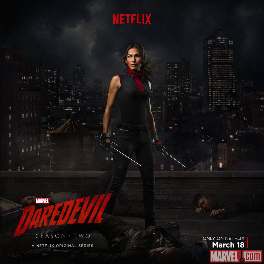 "Elektra (Elodie Yung) in ""Daredevil"", Staffel 2, 2016"