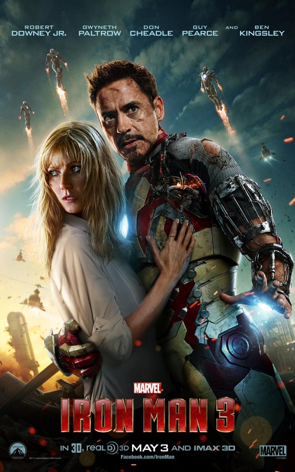 """Iron Man 3"", 2013"