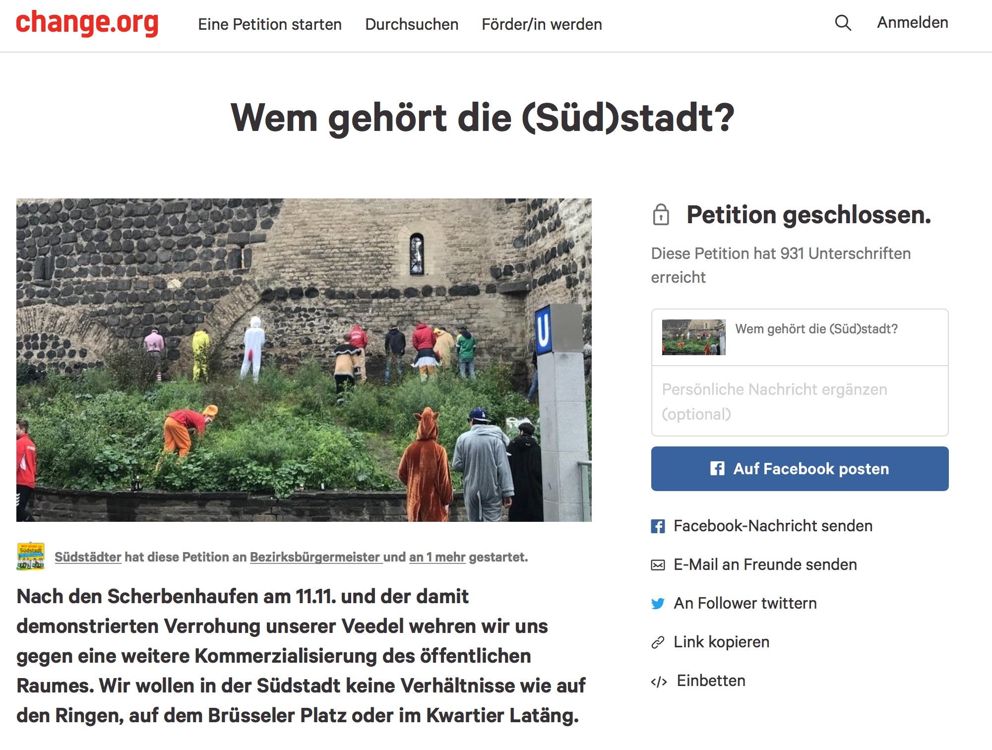 "Südstadtkalypse: ""Wem gehört die (Süd)Stadt"""