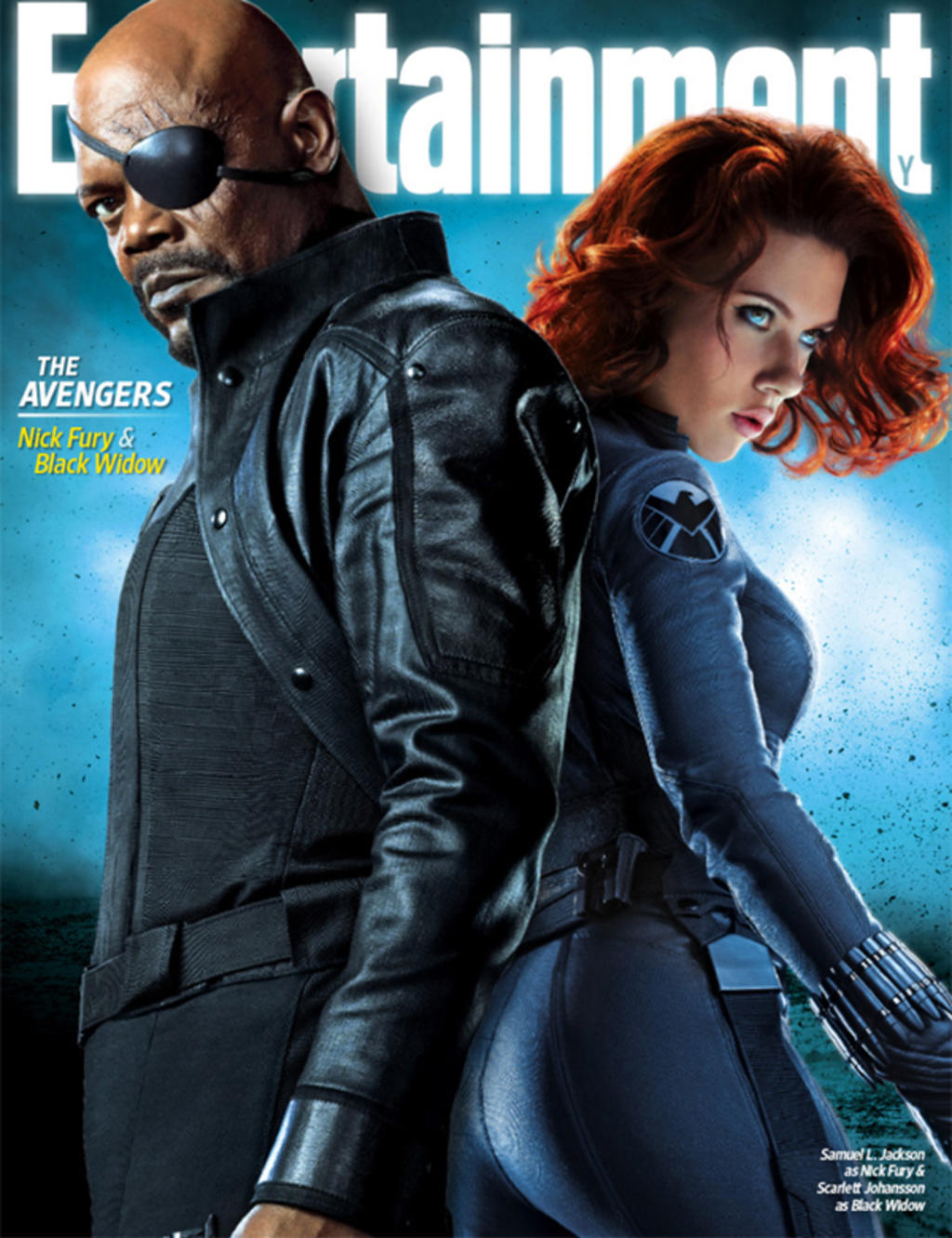 "Entertainment Weekly Cover zu ""The Avengers"""